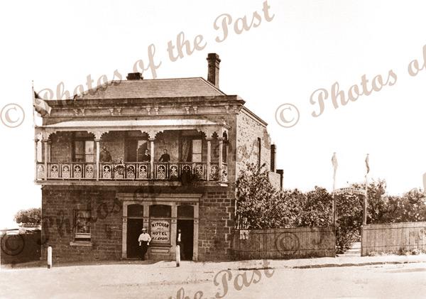 Mitcham Hotel, Albert St Mitcham SA. c1883. South Australia. Pub