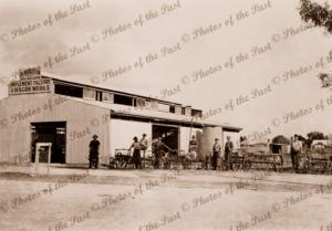 Balaklava Implement Factory & Wagon Works, A.E.Middleton, SA. c1910