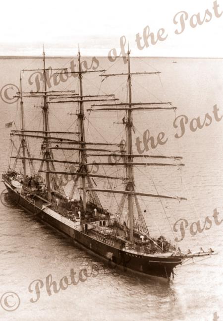 4m barque PASSAT at Port Victoria, SA. 1949