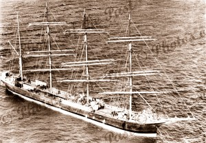 4m barque LAWHILL, c1940s, shipping