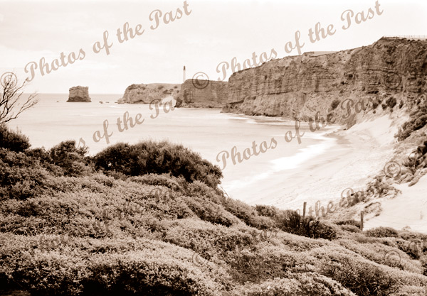 Sandy Gully Beach, Aireys Inlet, Vic.Victoria. Great Ocean Road. c1910s