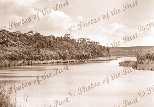 Anglesea River, Anglesea, Vic.c1930s Great Ocean Road. Victoria