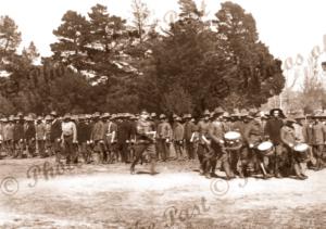 Australian Expeditionary Forces, Ballarat, Vic.c1915. Victoria. Military