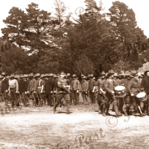 Australian Expeditionary Forces, Ballarat, Vic.c1915. Victoria. Military