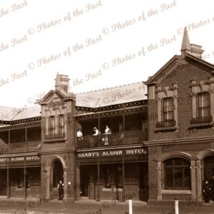 Albion Hotel, Casterton, Vic.c1910. Victoria