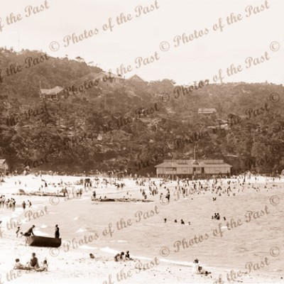 Balmoral Beach, Middle Harbour, NSW. New South Australia c1930s