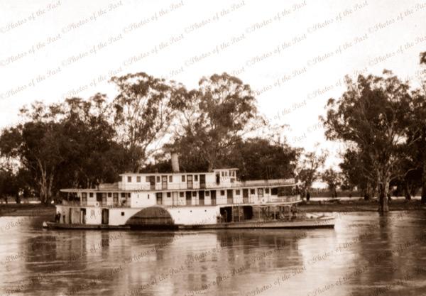 PS GEM 1917. Riverboat