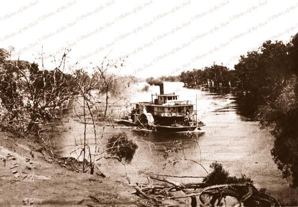 PS ELLEN. Murray River. Paddle Steamer