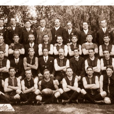 Norwood Football Club, SANFL. 1912. Aussie rules. South Australia