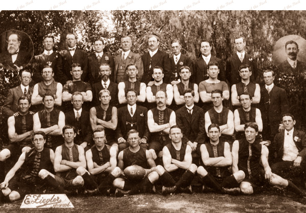 Norwood Football Club, SANFL. 1912. Aussie rules. South Australia
