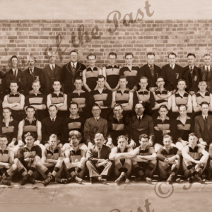 Sturt Football Club (with names) Premiers, SA. 1940. SANFL. South Australia