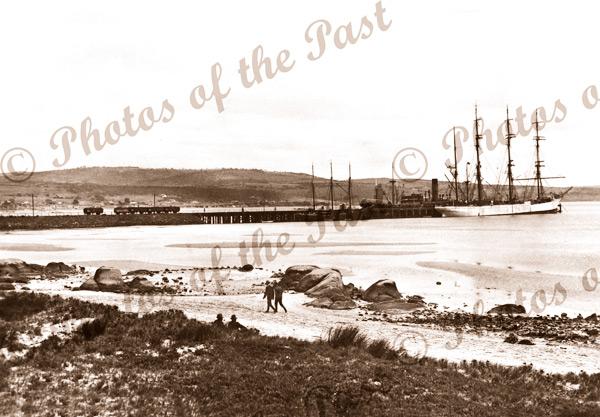 Shipping. Port Lincoln, SA c1924. South Australia