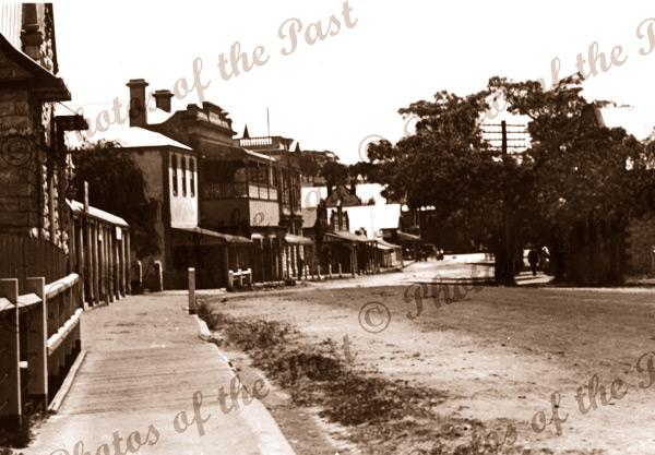 Murray Street, Angaston, SA.1930. Barossa Valley. South Australia