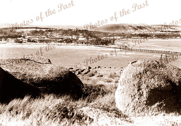 Victor Harbor from Granite Is. SA. 1937. South Australia