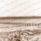 Vivonne Bay jetty with shore end removed. Kangaroo Island, SA. c1944. South Australia