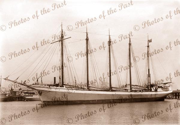 5m aux schooner JANET CARRUTHERS. Built 1917