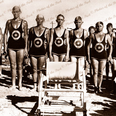 Largs Bay Lifesavers, SA. South Australia. 1940s