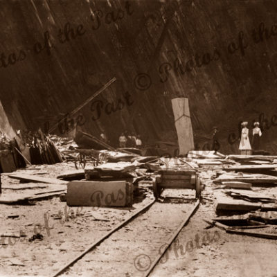 Bangor Slate Quarry, Willunga, SA. Mining. South Australia
