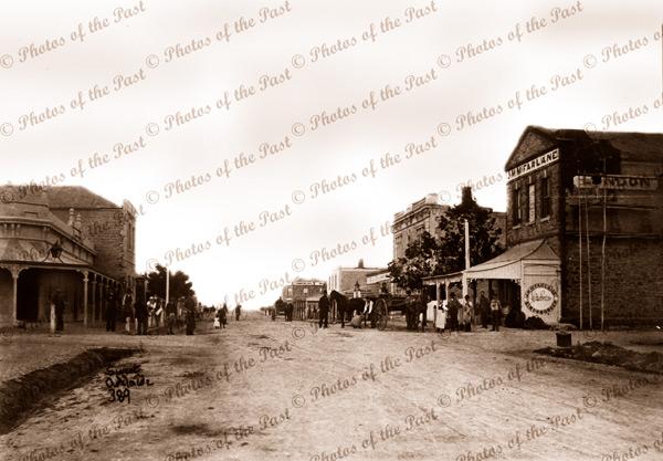 Smith Street, Naracoorte, SA. c1870s. South Australia