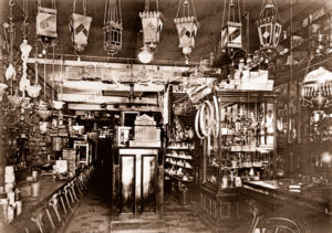 Crooks & Brooker hardware store. Three story building in Rundle St, South Adelaide. SA. c1900s. South Australia.