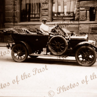 Old car, Sydney, NSW. c1910. New South Wales