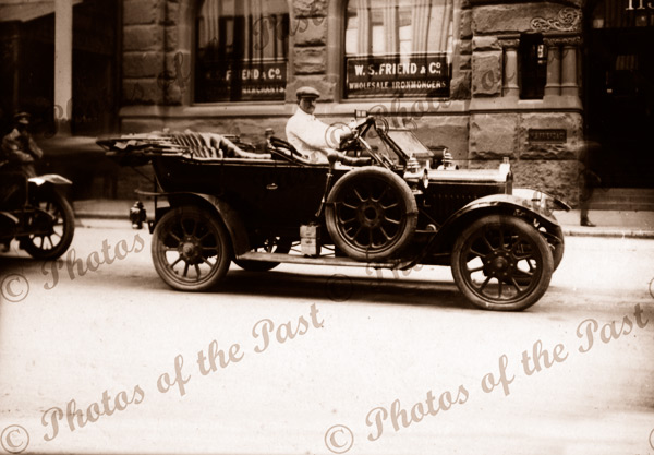 Old car, Sydney, NSW. c1910. New South Wales