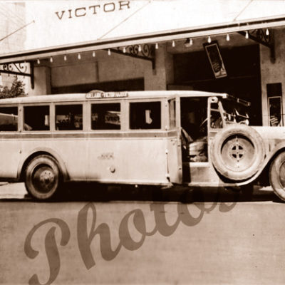 Adelaide - Victor Harbor Bus Service, SA. 1926. South Australia