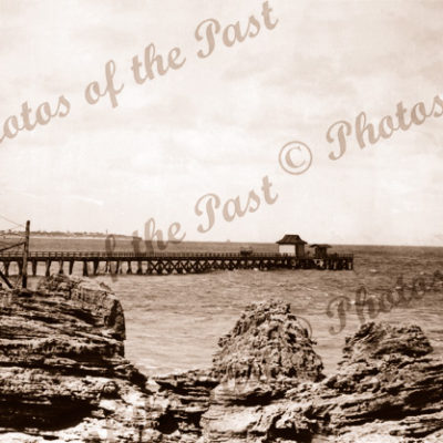 The Pier, Point Lonsdale, Vic.Victoria 1940s jetty