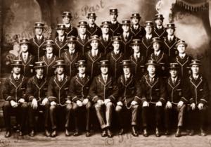 Port Adelaide Football Team. Tasmanian Tour (no names) July 1912