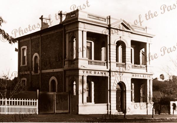 Bank of Adelaide, Angaston, SA. South Australia. 1908