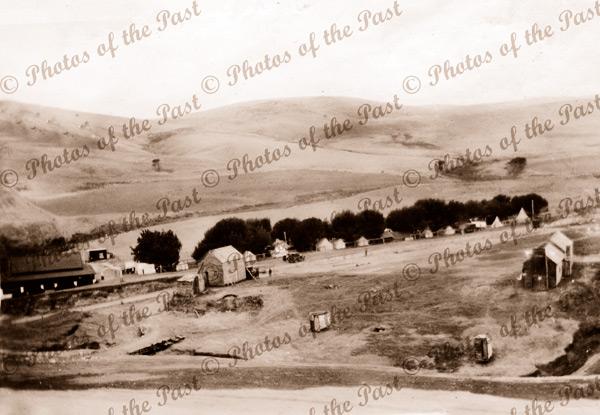 View to Jetty House & Caravan Park, Second Valley, SA. South Australia. 1934