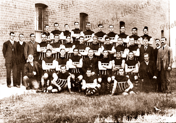 Port Adelaide Football Club, undefeated Champions of Australia. 1913
