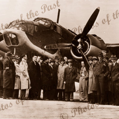 Beaufort Bomber at Parafield, SA? 1937. airplane