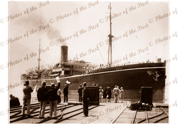 P&O SS KHIVA. c1915. Shipping
