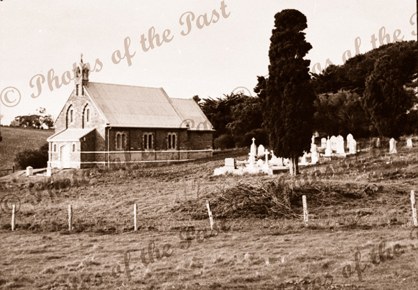 St. James Anglican church, Delamere. SA. Opened 1871. South Australia