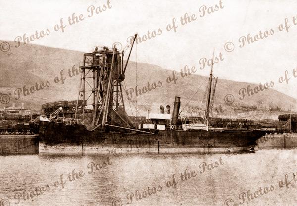 Tramp steamer SS BORDEAUX 1894. Shipping