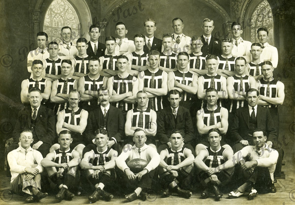 Port Adelaide Football Club B, Team. 1933. South Australia