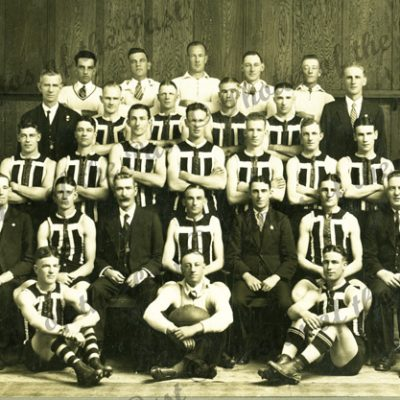 Port Adelaide Football Club B, Team. 1934. South Australia