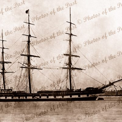 3M Ship LORD WARDEN. Built at Sunderland, 1862