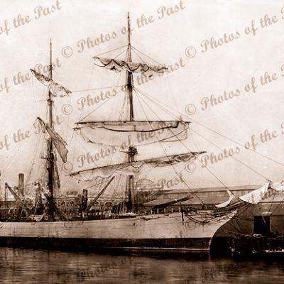 3M Barque BEN VOIRLICH. Built 1873. Shipping