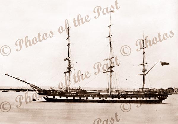3M Ship SHANNON. Built 1862