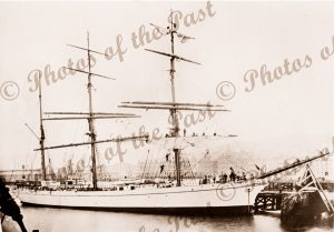 3M Barque SILVERSTREAM. Built 1891. Shipping