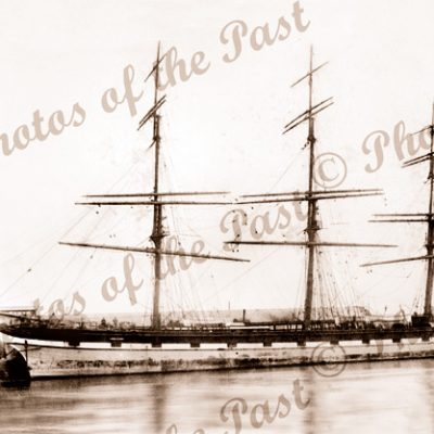 3M Ship LOCH GARRY. Built 1875. Shipping