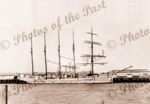 5M Schooner KATE G PETERSON at Port Adelaide, SA. South Australia. Built 1920. Ship