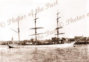 3M Barque PORT CARLISLE. Ship. Built 1888