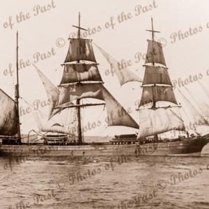 3M Barque C.J.S. Built 1876