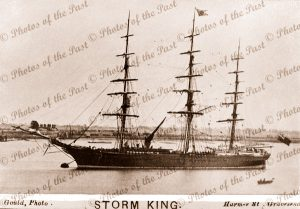 3M Clipper STORM KING. Built 1858. Shipping