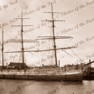 3M Barque LORTON. Built 1888. Shipping