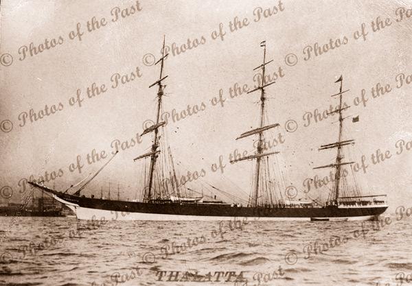 3M Ship THALLATA. Built 1891. Shipping