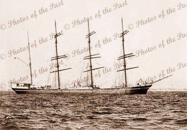 4M Barque GARTHPOOL. Built 1891. Shipping